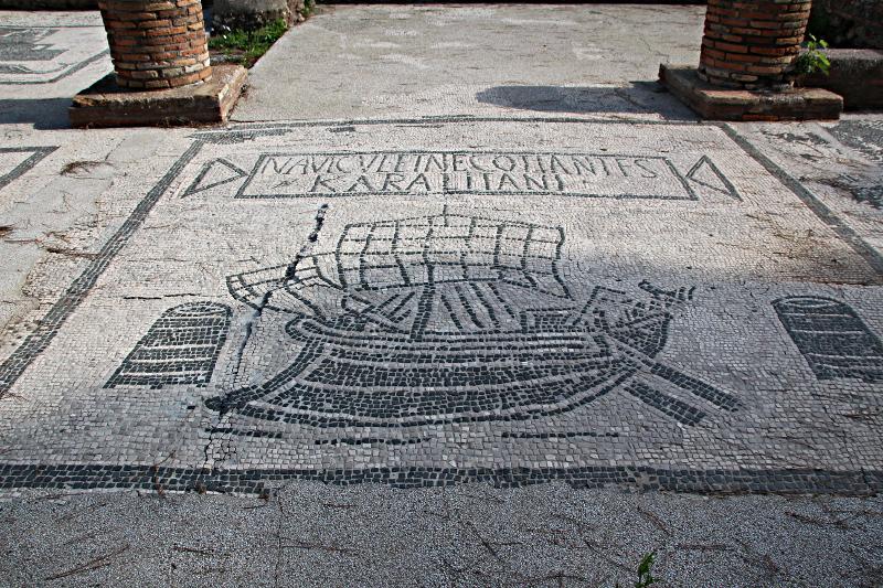Verschiffer und Händler aus Cagliari, Sardinien