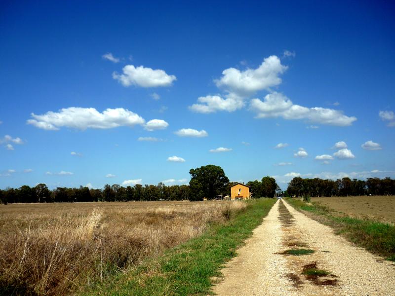 La campagna bonificata di ostia antica for Casa vivente del sud progetta la casa colonica