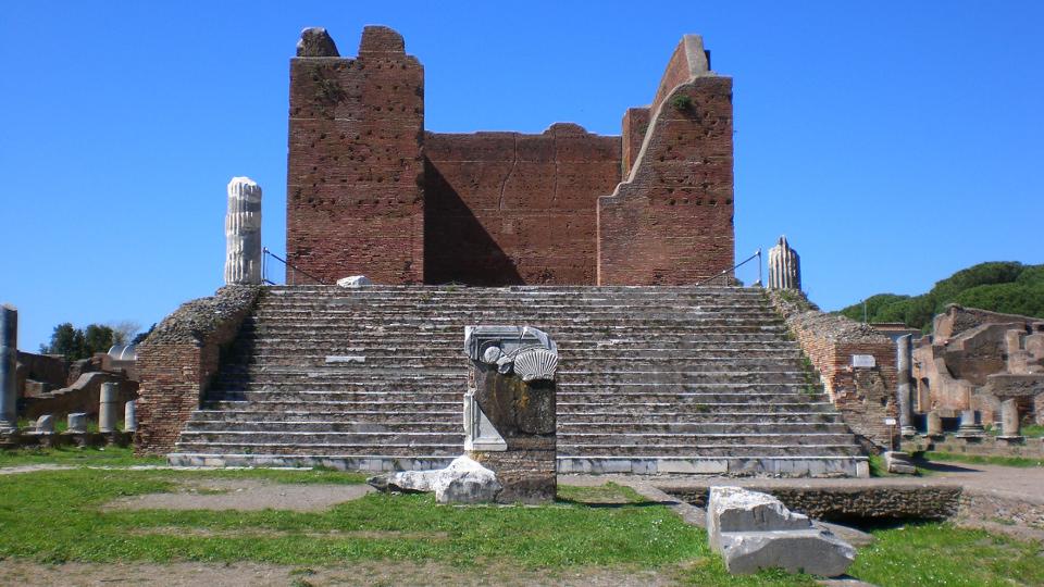 Capitolium Ostia Antica