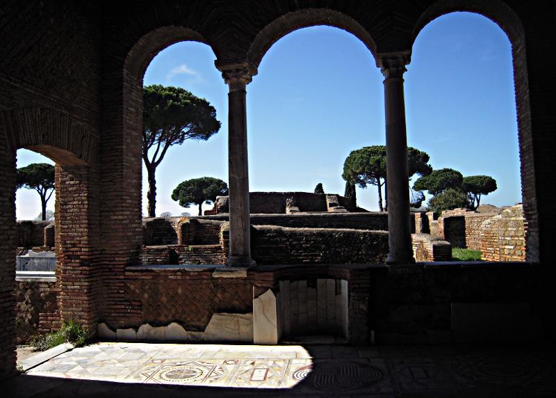 Domus del Ninfeo Ostia Antica