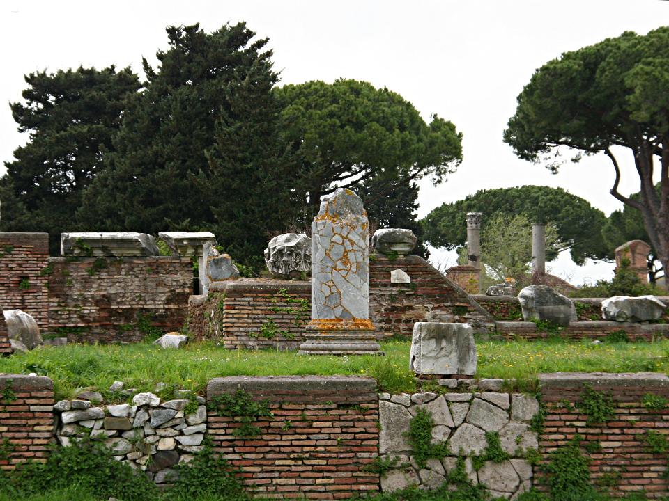 La basilica di Ostia Antica