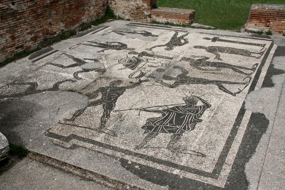 Mosaico del frigidario