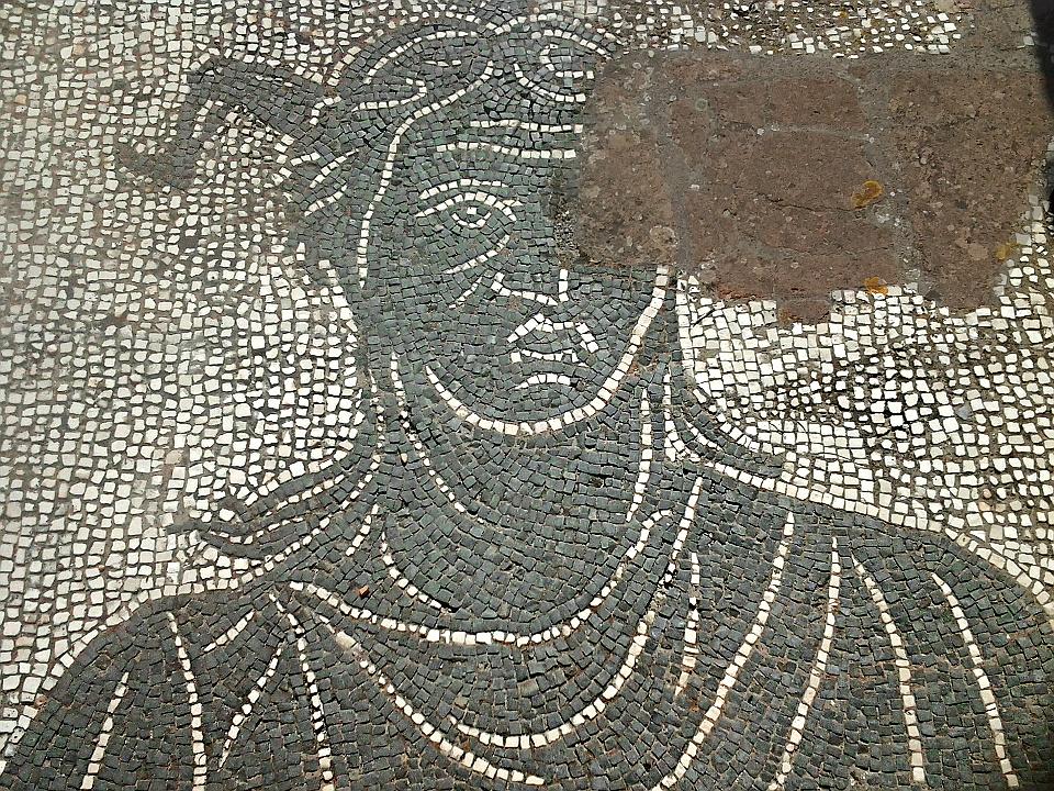 Il mosaico della Trinacria [Foto: Stefano Lesti | Some rights reserved]