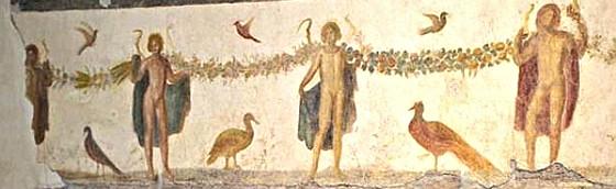 Affresco Case Romane del Celio