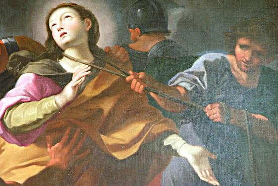 Il martirio di Sant'Aurea, Andrea Sacchi