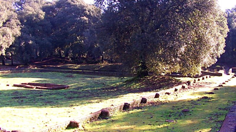 Il Peristilio della Villa di Plinio il giovane a Cestel Fusano