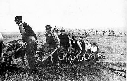 La bonifica delle paludi dell'agro romano