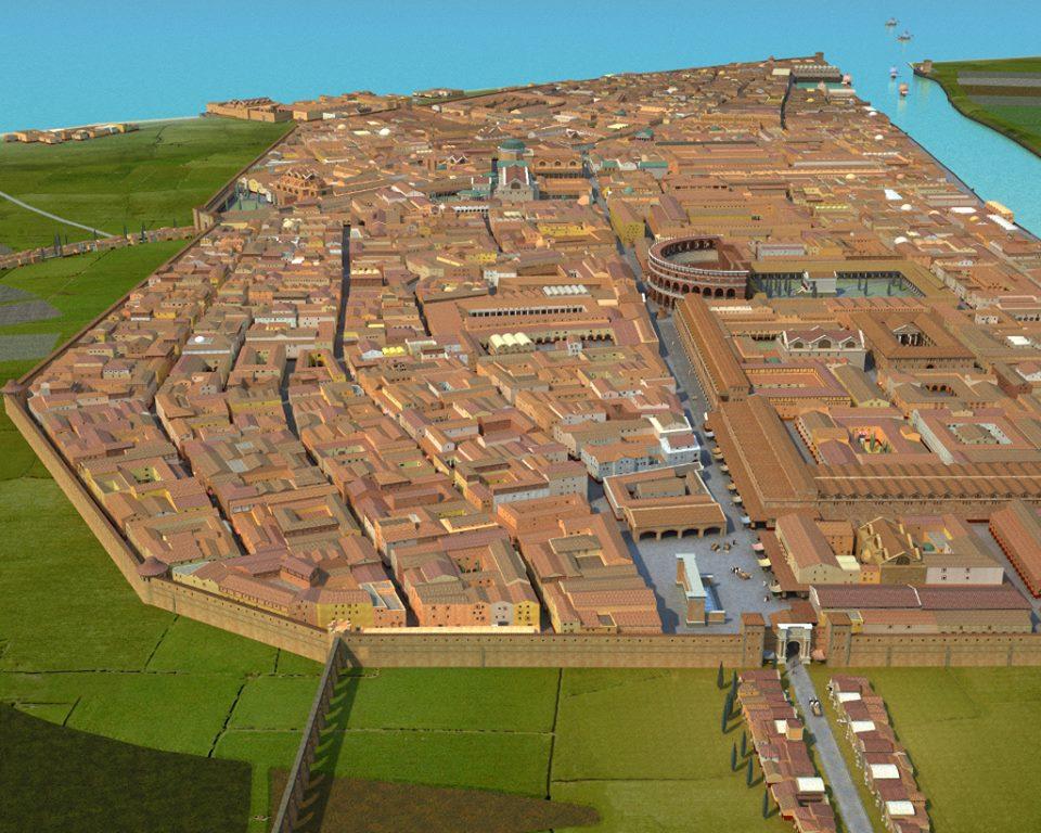 OstiaAntica full overview by Angelo Coccettini | Colonia Ostiensis, per sua gentile concessione. Visualizzazione XXL in una nuova finestra