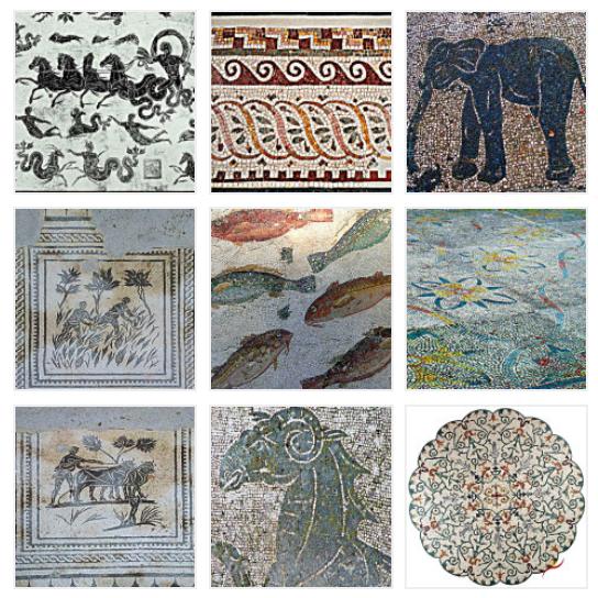 Mosaici di Ostia Antica
