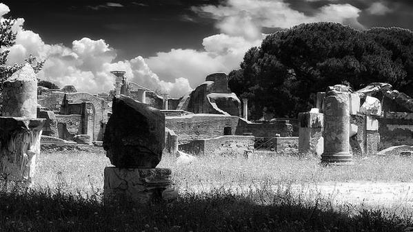 Antica and its ruins...