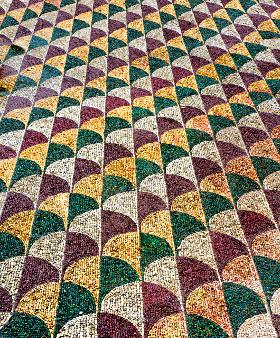 Mosaico delle terme di Caracalla