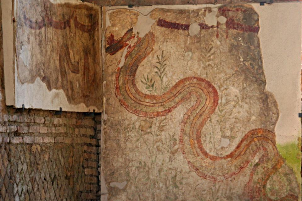 Il Mitreo dei Serpenti [Foto: Klaus Heese]