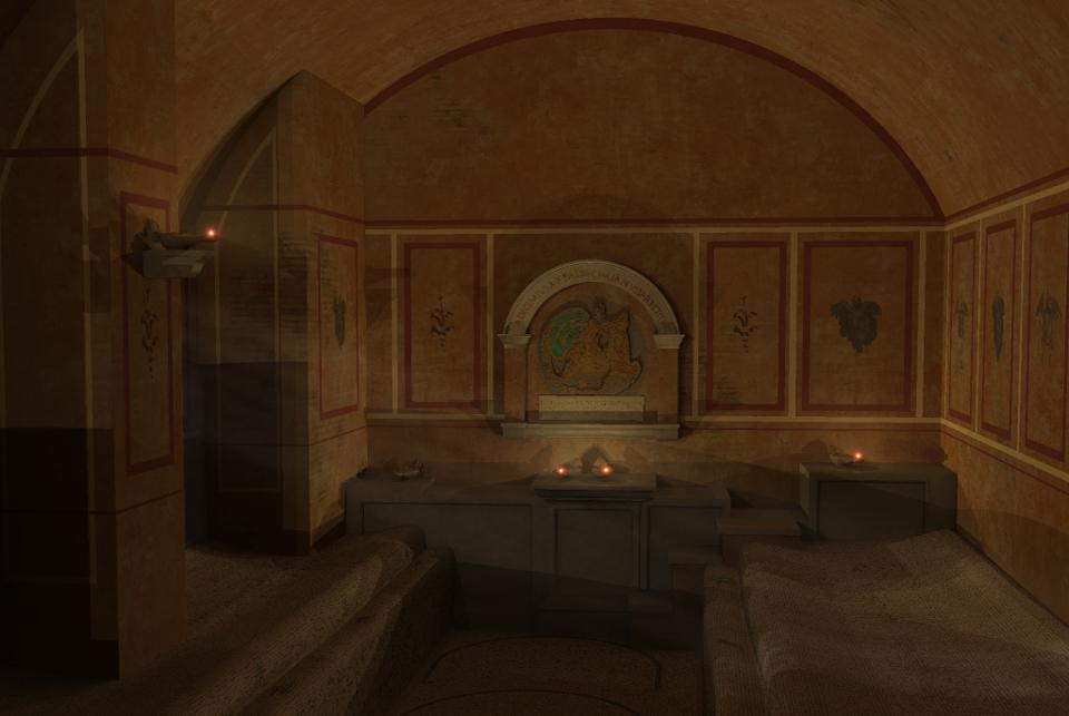 Il Mitreo delle Sette Sfere a Ostia antica