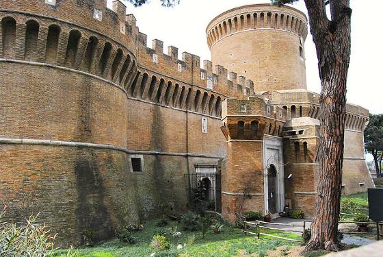 Castello di Giulio II a Ostia Antica