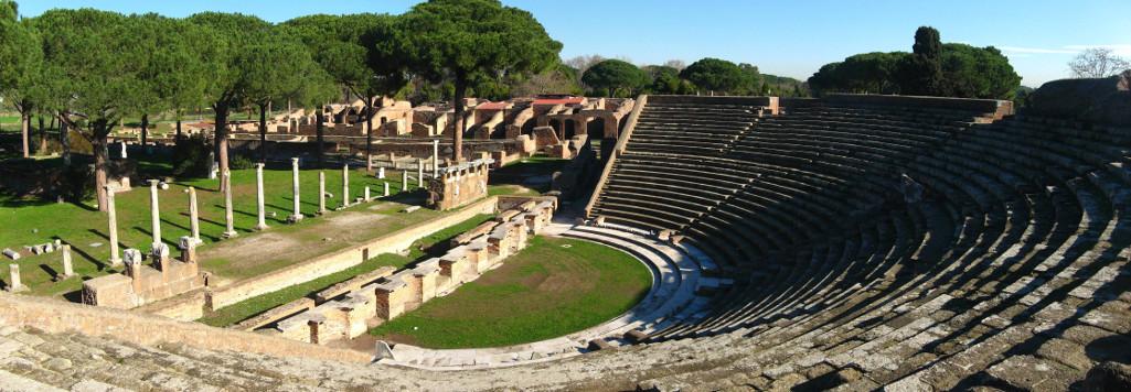 Il teatro romano di Ostia Antica