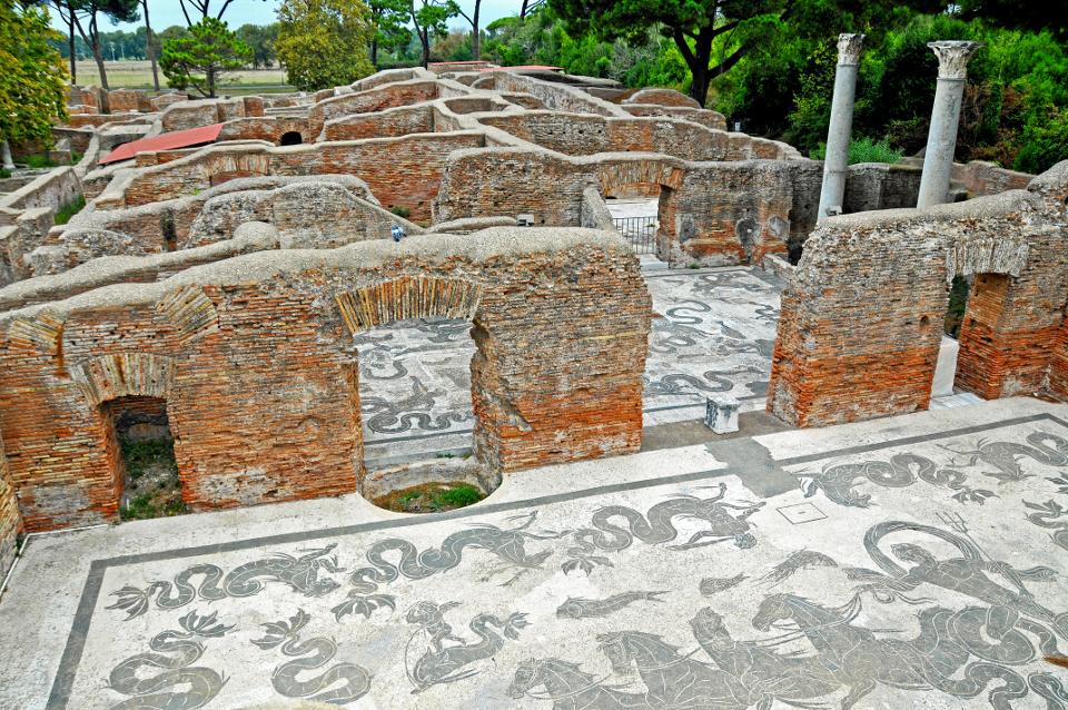 Terme di Nettuno, Ostia Antica