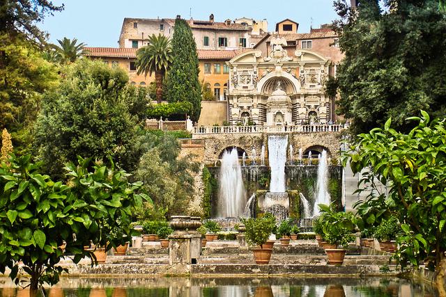 Villa d'Este Tivoli Roma