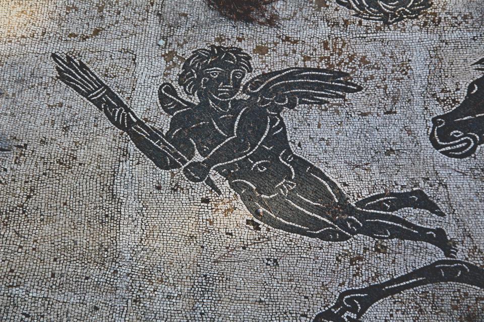 Imeneo, Mosaico di Nettuno, Ostia Antica