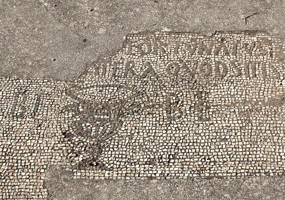 Mosaico della Caupona di Fortunato