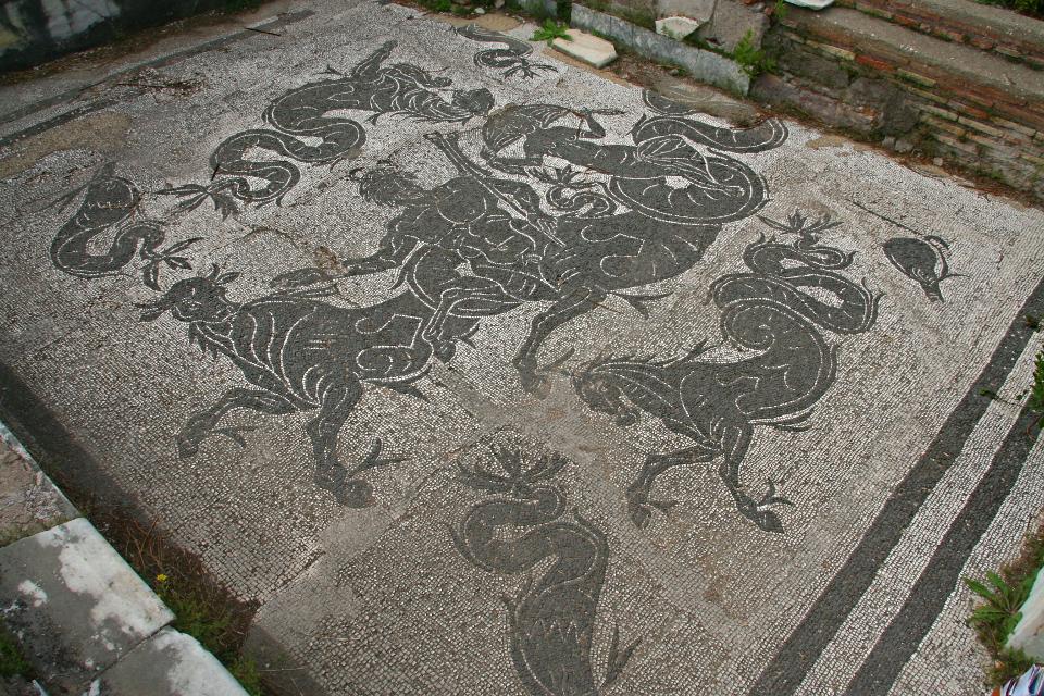 Mosaico del caldario