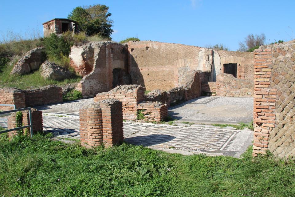 I mosaici del Caseggiato di Bacco e Arianna