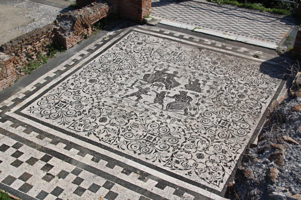 Il mosaico di Bacco e Arianna