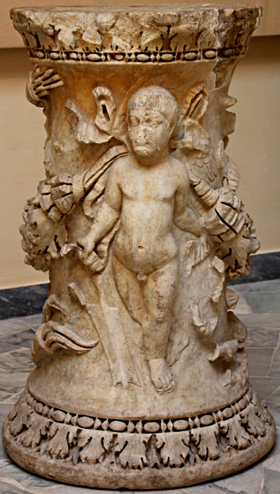 L'altare che ha dato il nome al tempio, Museo ostiense