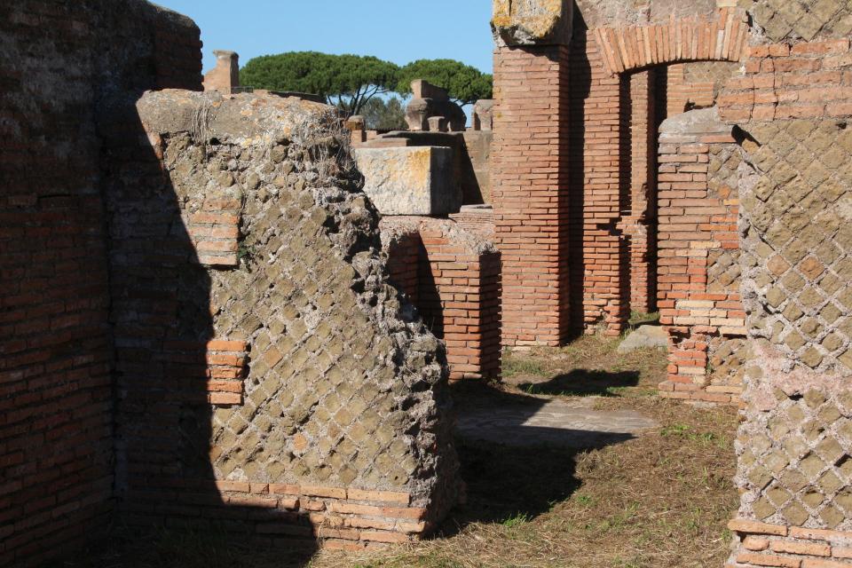Domus dei Dioscuri, stanza situata a nord-ovest dell'edificio