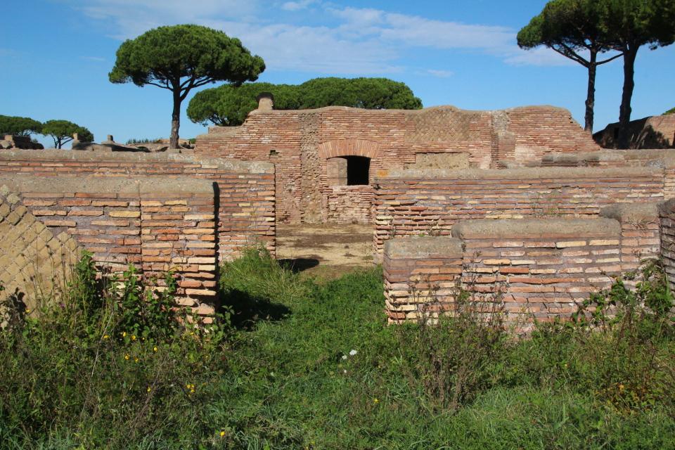 Il frigidarium della Domus situata a sud-ovest