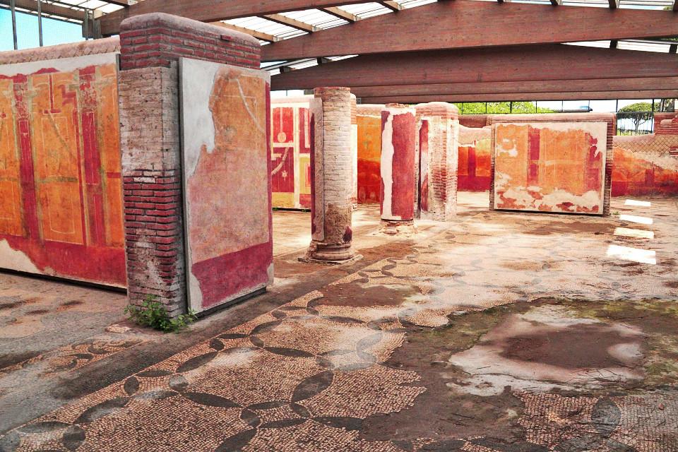 Le Case Decorate di Ostia antica