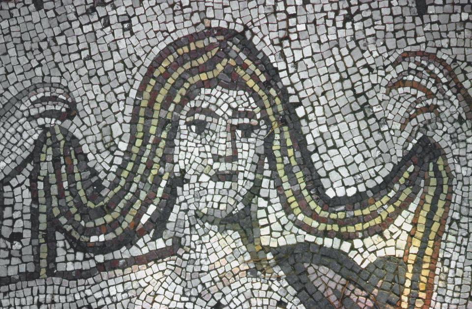 Particolare del Mosaico di Venere [Foto: Roger Ulrich | Some rights reserved]