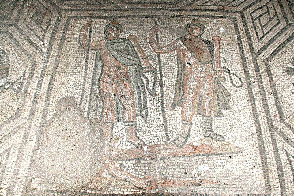 Il mosaico dei Dioscuri