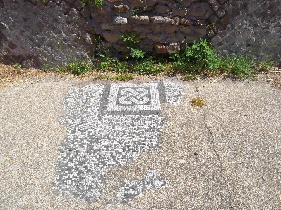 Mosaico, Sinagoga Ostia Antica [Herb Neufeld]