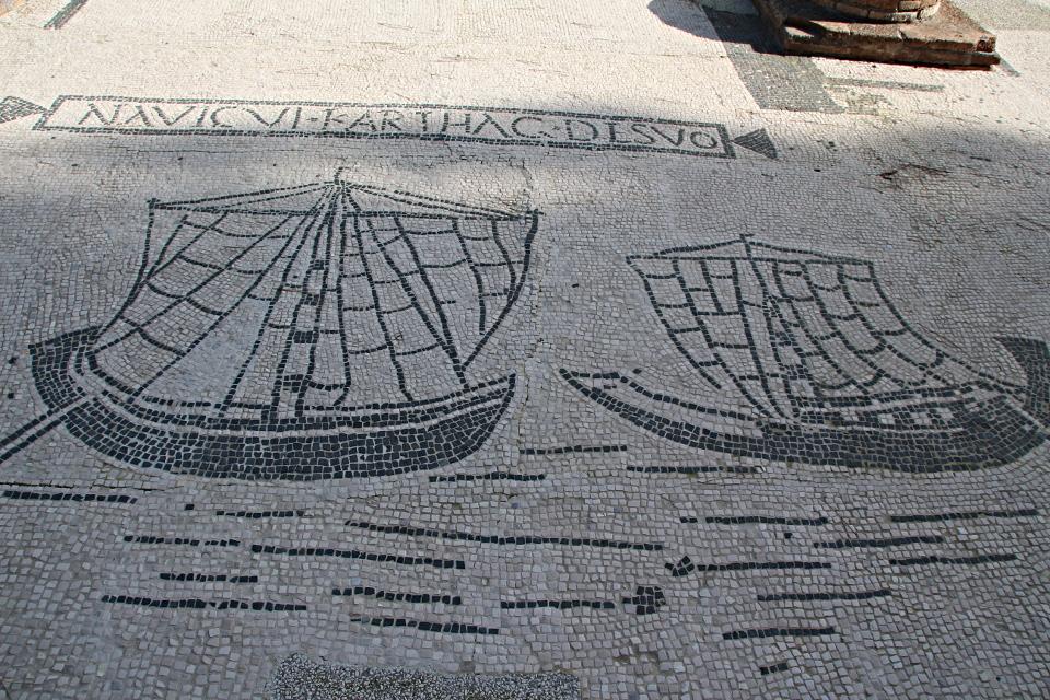 Statio 18, l'ufficio degli spedizionieri marittimi di Cartagine